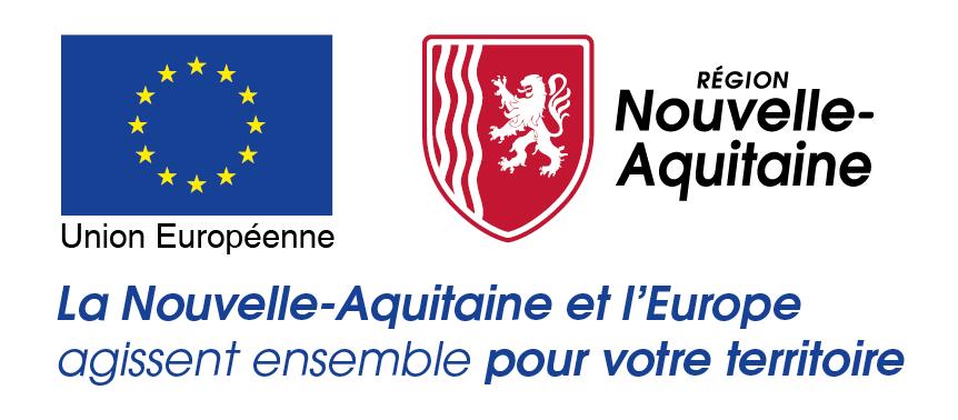 Logo Europe en Nouvelle-Aquitaine